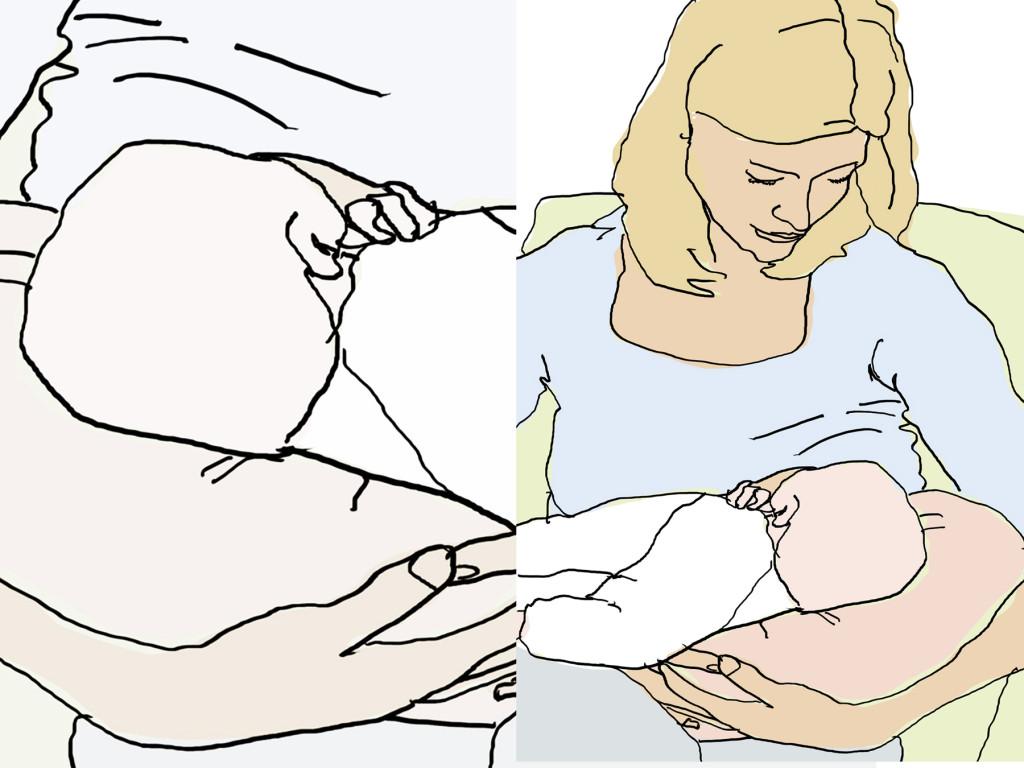 Wie lange sollte man sein Baby stillen?