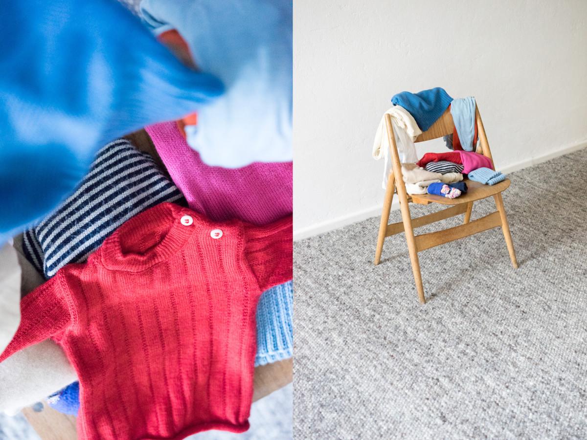 Minimalisten: Unsere Baby-Kleiderstange