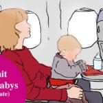 Bequem Fliegen mit Baby: Kleine Babys bis circa 6 Monate
