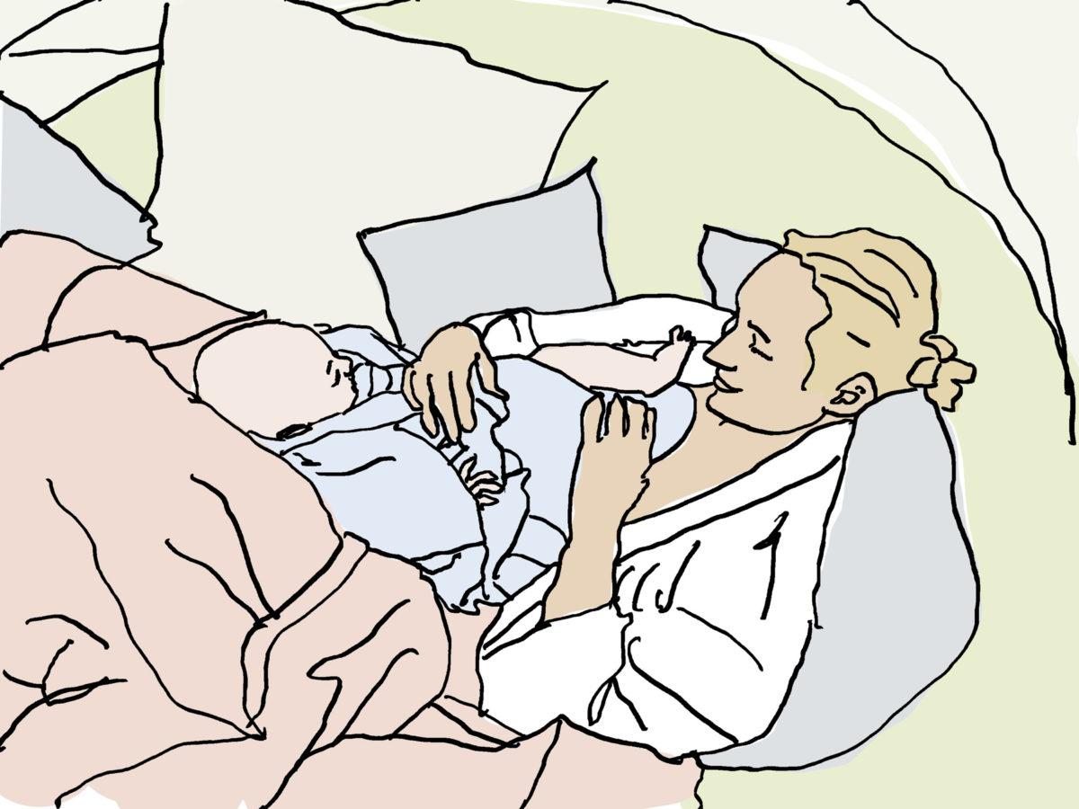 Kaiserschnittnarben behandeln und pflegen